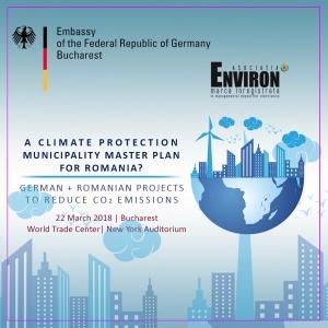 Conferință despre schimbările climatice și protecția climei în 22 martie la  World Trade Center București