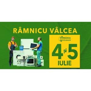 """Râmnicu Vâlcea participă în campania """"România Reciclează""""  - Pe  4 și 5 iulie vâlcenii reciclează!"""
