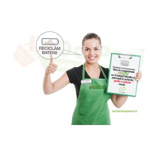 Rețeaua LaDoiPași și Asociația SNRB extind programul de reciclare a bateriilor în peste 500 de magazine din România