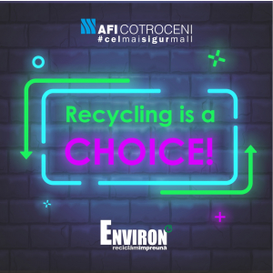 Recycling is a choice - environ