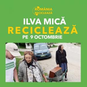 """""""România Reciclează"""" ajunge din nou în Ilva Mică!"""
