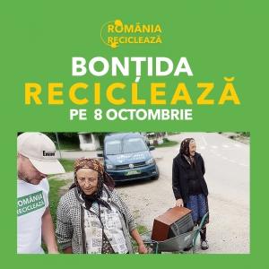 """""""Romania Recicleaza"""" ajunge în judetul Cluj"""