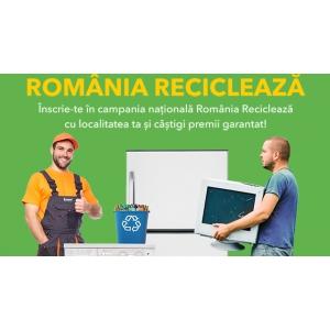 România Reciclează cu Asociația Environ