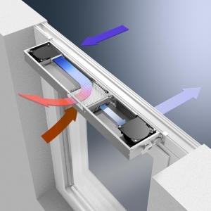 ventilatie automata.  Alukonigstahl recomanda sistemele de ventilatie automata Schuco VentoTherm