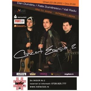 Indie Club  Emisia 2. Concert Emisia 2 in Indie Club!