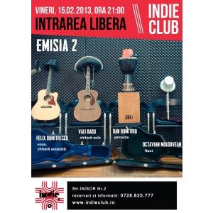 Concert Emisia 2 in Indie Club!