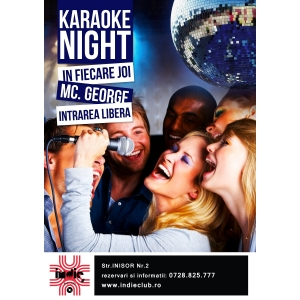 karaoke. Distreaza-te la Karaoke Night in Indie Club!