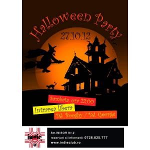 Halloween  Indie Club. Halloween Party in Indie Club!