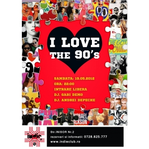 I love the 90's Party in Indie Club
