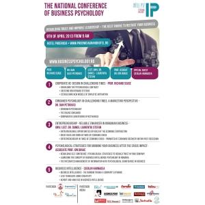 psychology. Inca 5 zile pana la The National Conference of Business Psychology
