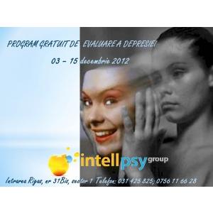 Intell Psy Group  Ion Duvac  Depresie. Intell Psy Group lanseaza Programul Gratuit de Evaluare a Depresiei