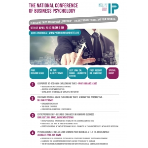 business diplomacy conference. Intell Psy Group organizeaza The National Conference of Business Psychology