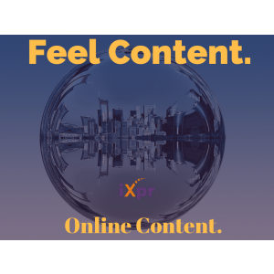 content marketing. ixpr - feel content