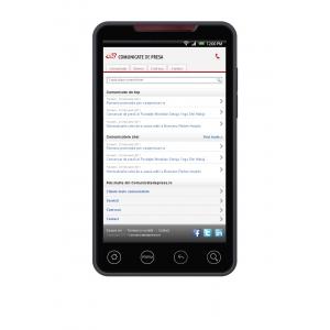 test comunicatedepresa. Versiune mobile www.comunicatedepresa.ro