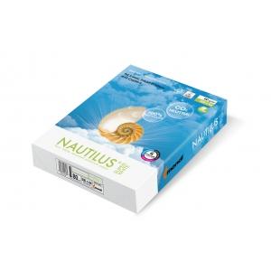 hartie reciclata. NAUTILUS® SuperWhite – hârtie 100% reciclată, calitate premium