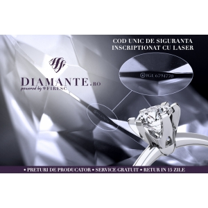 diamante. Bijuterii din aur cu diamante certificate international
