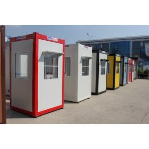 Cabina de paza cu dotari standard, utilizata in diverse situatii
