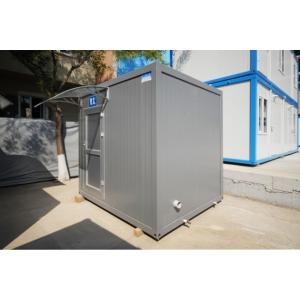 Un container de dus, o solutie sanitara eficienta si rapida