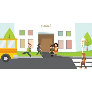 """735 de elevi vor studia gratuit educatia rutiera la clasa, in al treilea an de proiect """"Drum sigur – ABCdar rutier"""""""