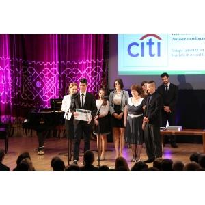 citi. Citi Romania premiaza elevii antreprenori cu ocazia Zilei Globale a Implicarii in Comunitate