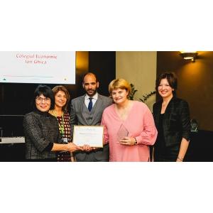 Colegiul Economic Ion Ghica din Targoviste, premiat – alaturi de 14 scoli europene – la competitia europeana Scoala Antreprenoriala a anului 2017