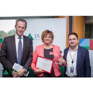 ja europe. Directoarea Colegiului de Informatică din Piatra Neamț, Daniela Neamțu, a participat la ceremonia de premiere de la Bruxelles