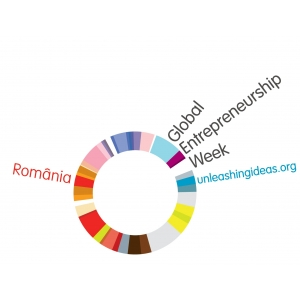 Global Entrepreneurship Week. Logo GEW