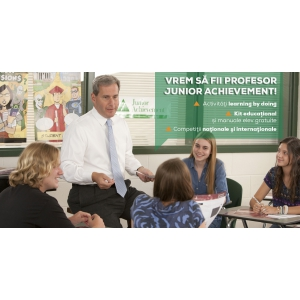 decizia de sanctionare. Incep inscrierile in programele internationale JA - Curriculum la Decizia Scolii (CDS)