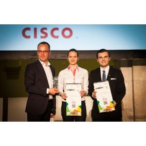 lisabona. Start-up-ul romanesc VisionBot a castigat premiul Cisco Technopreneurship Award in cadrul competitiei europene de antreprenoriat de la Lisabona