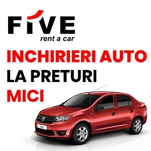 Rent a car Bucuresti - incearca clasa Compact de la FIVE