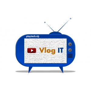 vlogger. Playtech.ro a finalizat prima experiență de video blogging IT din România