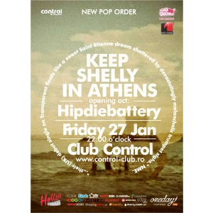 Keep Shelly in Athens. New Pop Order: Keep Shelly in Athens concerteaza in Club Control pe 27 ianuarie