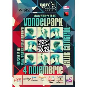 Vondelpark. New Pop Order: Vondelpark concerteaza in Club Control - vineri, 4 noiembrie
