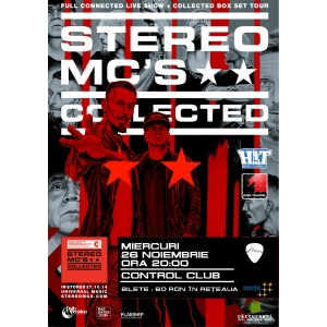 Mc Robinho. Stereo MC's, live la Bucuresti, in cadrul turneului Collected