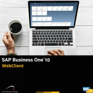 sap business one. SAP WEBCLIENT