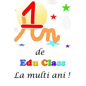Edu Class. Un an de Edu Class