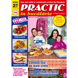 publicatie. PRACTIC IN BUCATARIE