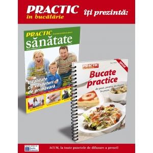 Practic. PRACTIC SANATATE si BUCATE PRACTICE - noua carte de bucate, ambele de la Burda Romania