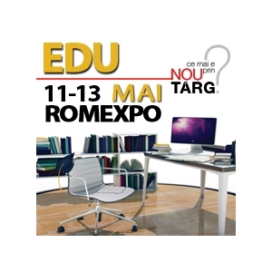 edu. Afla, testeaza si compara cele mai competitive oferte educationale la EDU 2012! 11 - 13 mai, ROMEXPO