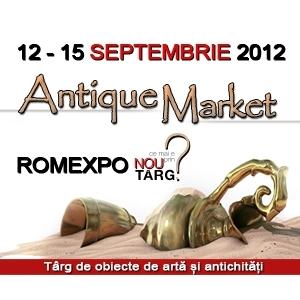 Antique Market. ANTIQUE MARKET – o fabuloasa calatorie in timp, editia a VII-a, 12 – 15 septembrie, ROMEXPO