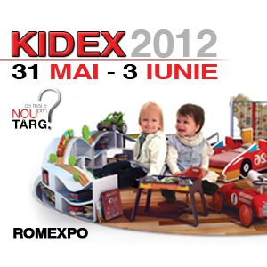 Kidex. GREEN PARENTING la  KIDEX  30 mai - 3 iunie 2012