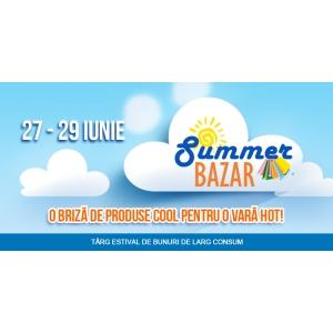 ROMEXPO devine destinatia shopping-ului estival. Pe 27 iunie incepe Summer Bazar