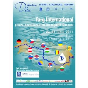 Târg internaţional pentru dezvoltarea macro-regiunii Dunărea. Târg internaţional pentru dezvoltarea macro-regiunii Dunărea la Romexpo, 23 – 26 iunie 2011