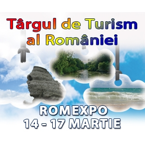 TARGUL DE TURISM AL ROMANIEI, 14 -17 martie 2013, ROMEXPO -  Pavilioanele C1, C2, C3, C4, C5 si C6