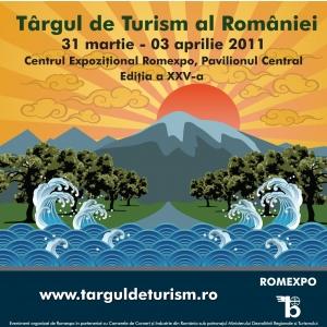 Targul de Turism al Romaniei. Targul de Turism al Romaniei 2011 la cea de-a XXV – a editie