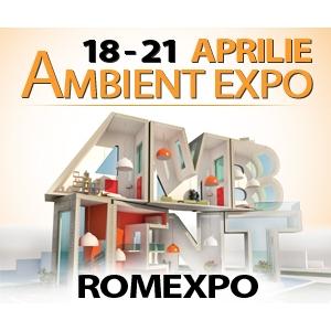 Ambient Expo. Transforma-ti casa intr-o super casa Decoratiuni, design, mobilier, sfaturi, idei – doar la AMBIENT EXPO  intre 18 si 21 aprilie la ROMEXPO