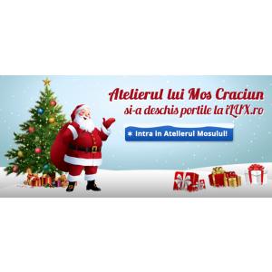 Atelierul lui Mos Craciun se deschide la iLUX.ro