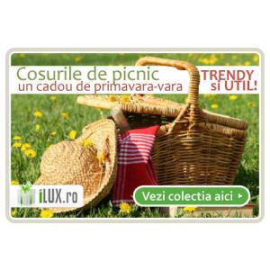 picnic. Noua colectie de cosuri de picnic este disponibila pe iLUX.ro!