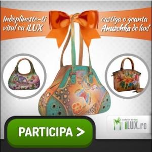 O geanta Anuschka, premiul concursului pentru bloggeri organizat de iLUX