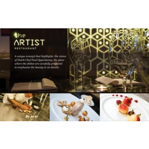 "Restaurantul the ARTIST a lansat meniul de primavara …""the natural (r)evolution"""